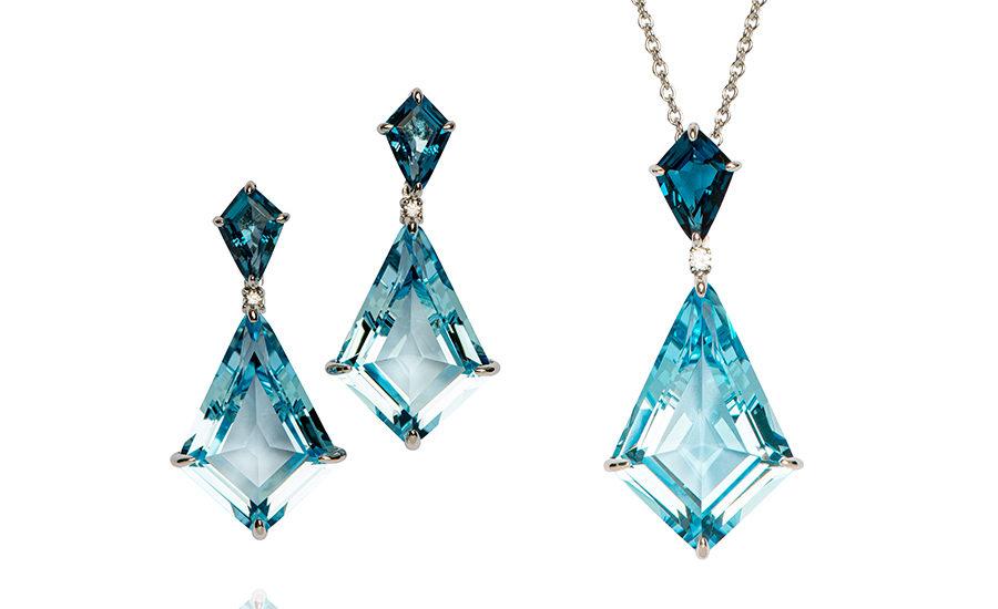 Peter Fischer Juwelen Ohrringe Collier Luxus